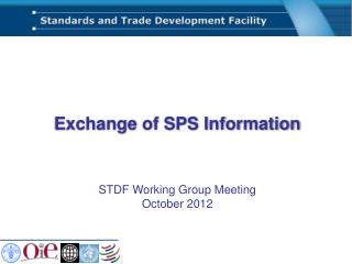 Exchange of SPS Information
