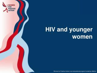 HIV and younger women