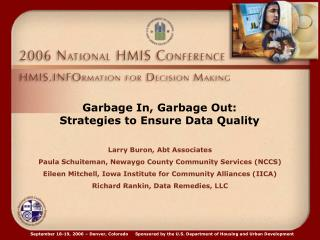 Garbage In, Garbage Out: Strategies to Ensure Data Quality