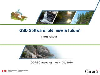 GSD Software (old, new & future)