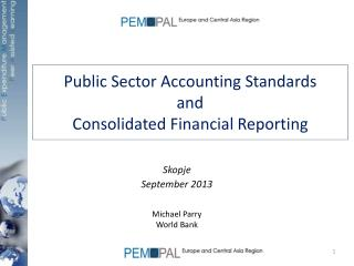 Public Sector Accounting Standards and Consolidated Financial Reporting