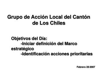 Grupo de Acción Local del Cantón de Los Chiles