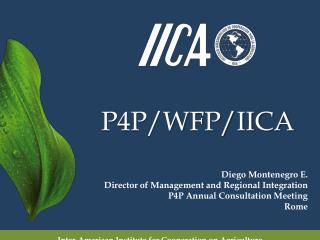 P4P/WFP/IICA