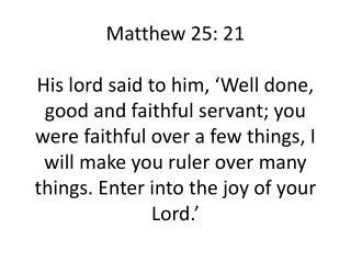 Luke 12: 48