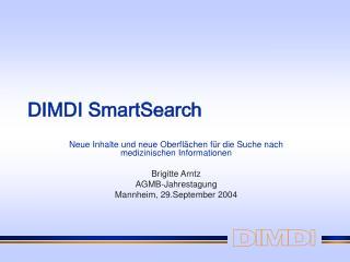 DIMDI SmartSearch