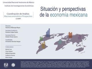 ÍNDICE Presentación2 I. Pronóstico macroeconómico     de corto plazo4