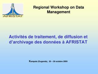 Regional Workshop on Data Management