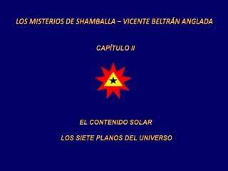 LOS MISTERIOS DE SHAMBALLA – VICENTE BELTRÁN ANGLADA