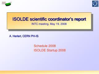 A.  Herlert , CERN PH-IS