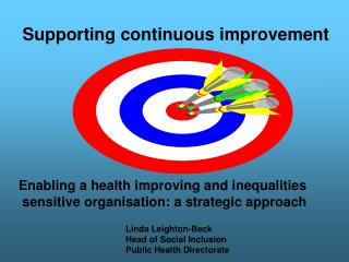 Supporting continuous improvement .