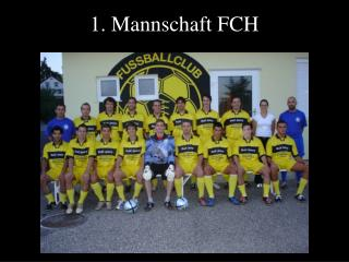 1. Mannschaft FCH