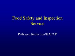 Food Safety and Inspection Service