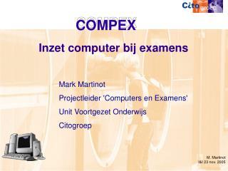 Inzet computer bij examens