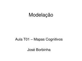 Modelação