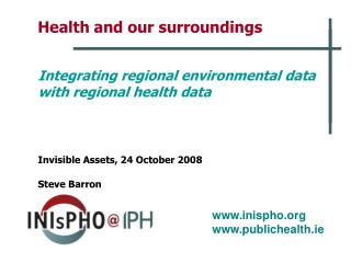 Health and our surroundings