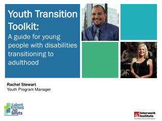 Youth Transition Toolkit : A guide for young people with disabilities transitioning to adulthood