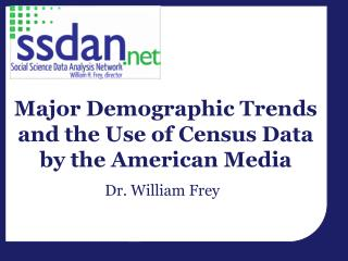 Major Demographic Trends and the Use of Census Data by the American Media