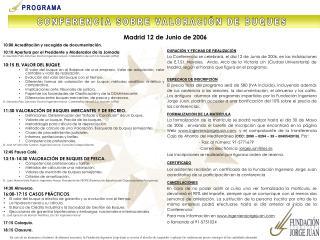 Madrid 12 de Junio de 2006