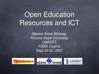 Open Education Resources and ICT