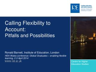Calling Flexibility to Account:  Pitfalls and Possibilities
