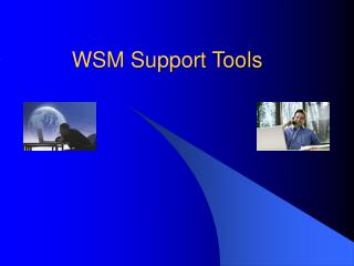WSM Support Tools