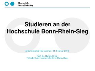 Studieren an der  Hochschule Bonn-Rhein-Sieg