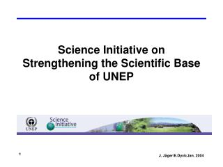 Science Initiative on Strengthening the Scientific Base of UNEP