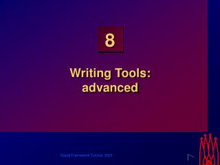 Writing Tools: advanced