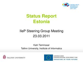 Status Report Estonia