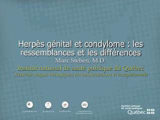Herpès génital et condylome: les ressemblances et les différences