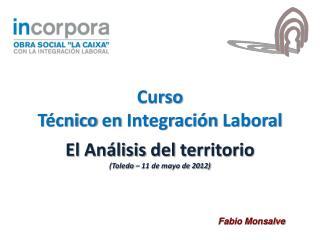 El  Análisis  del  territorio (Toledo – 11 de mayo de 2012)