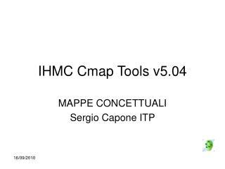 IHMC Cmap Tools v5.04