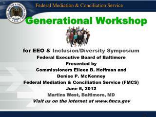 Generational Workshop