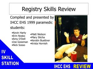 Registry Skills Review