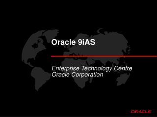 Oracle 9iAS