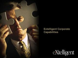 Extelligent Corporate Capabilities