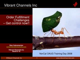 Order Fulfillment Challenges    Get control now