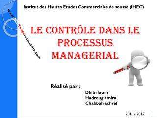 Institut des Hautes Etudes Commerciales de sousse (IHEC)