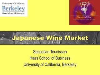 Japanese Wine Market