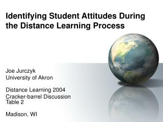Identifying Student Attitudes During the Distance Learning Process