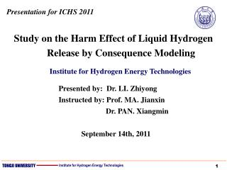 Study on the Harm Effect of Liquid Hydrogen Release by Consequence Modeling
