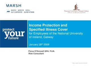 Fiona O'Donnell QFA, FLIA. Risk Consultant