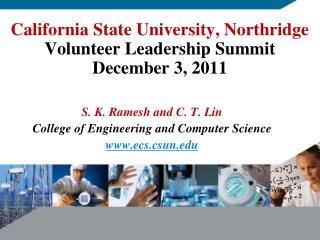 California State University, Northridge Volunteer Leadership Summit December 3, 2011