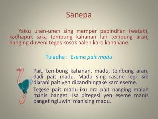Sanepa