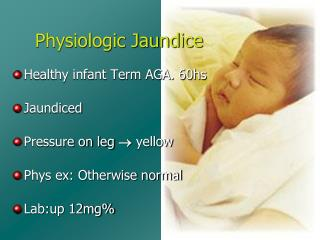 Physiologic Jaundice