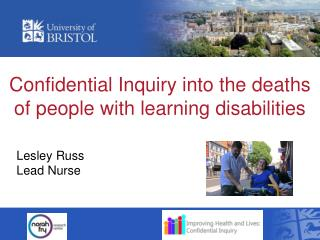 Confidential Inquiry into the deaths of people with learning disabilities