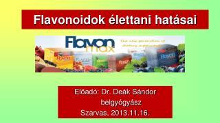 Flavonoidok élettani hatásai