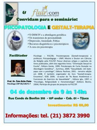 Convidam para o seminário :