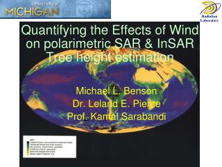 Quantifying the Effects of Wind on polarimetric SAR & InSAR Tree height estimation