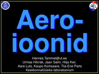 Aero- ioonid